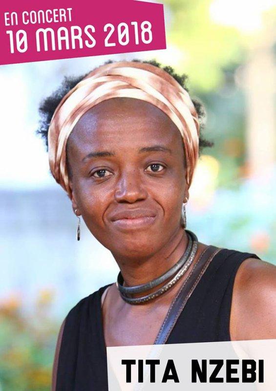 La flamboyante Tita Nzebi de retour sur scène le 10 mars prochain, à LaClef StGermain