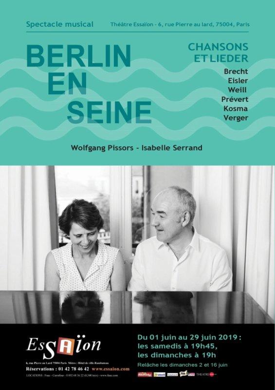 'Berlin en Seine' : raffiné, virtuose. C'est tout le mois de juin au Théâtre de l'Essaïon