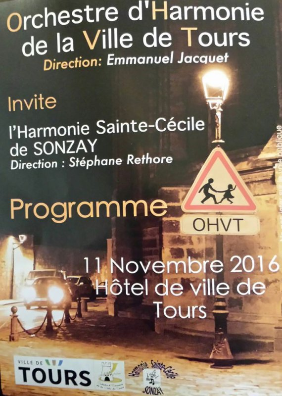 Concert de l' Orchestre D'harmonie De Tours : encore une fois fantastique !
