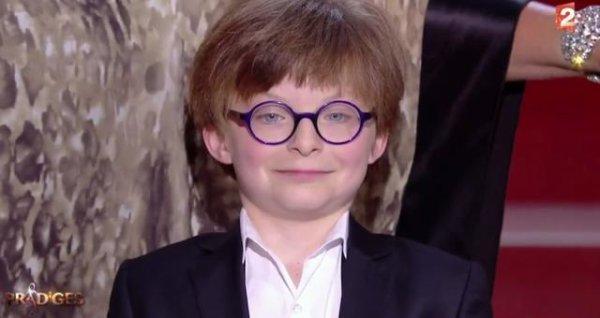 Indre-et-Loire - Tours - Télévision Marin, le Tourangeau de 12 ans, couronné sur France 2