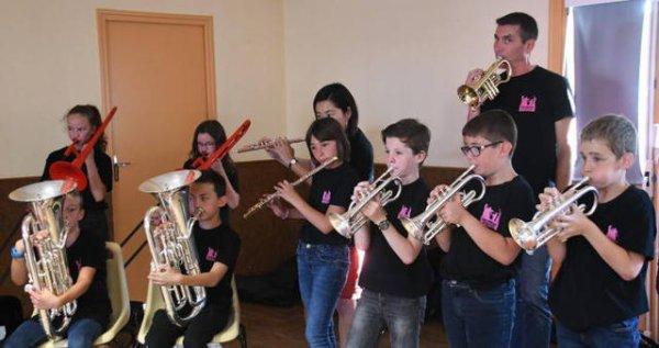 Indre-et-Loire - Villeperdue - Villeperdue Orchestre à l'école : un projet bien mené