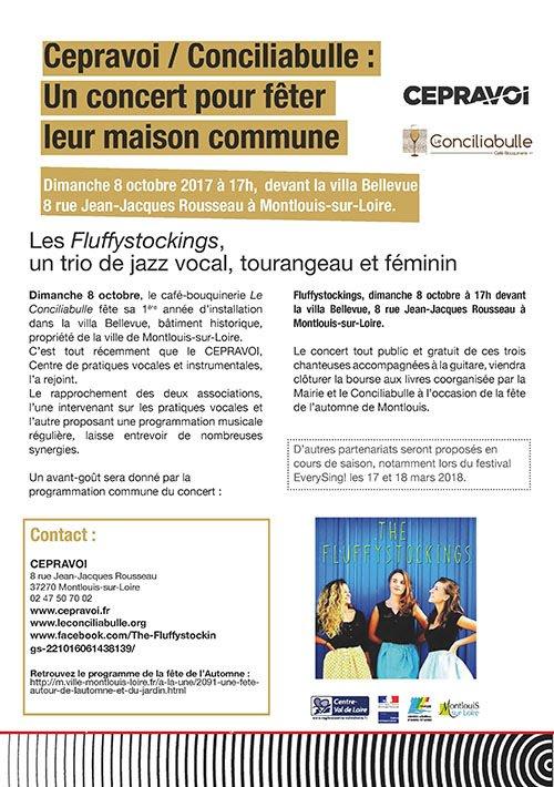 Cepravoi CEntre de PRAtiques VOcales et Instrumentales en région Centre - Val de Loire