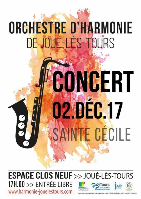 OHJLT - Orchestre d'Harmonie de Joué lès ToursConcert de Sainte Cécile 2017