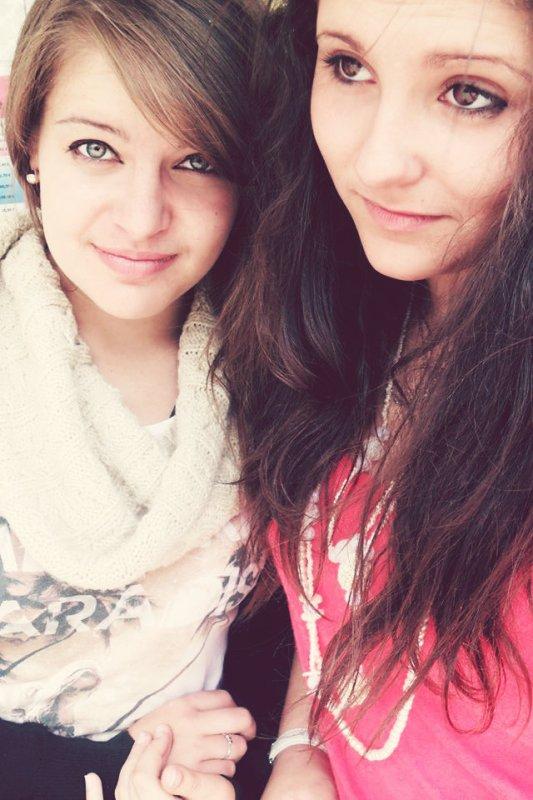 Ma meilleure amie, ma soeur ♥.