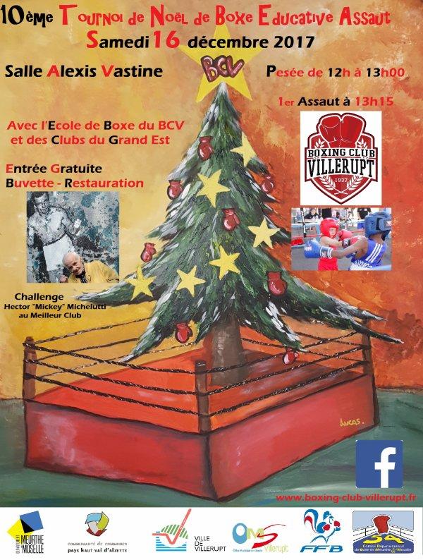 TOURNOI DE NOEL...10 ème EDITION SAMEDI 16 DECEMBRE!!!