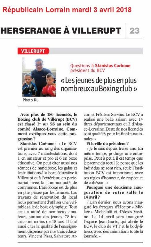 ON REPARLE DE NOTRE AG DANS LE JOURNAL...