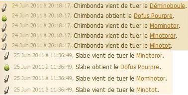 14 Minotots ?