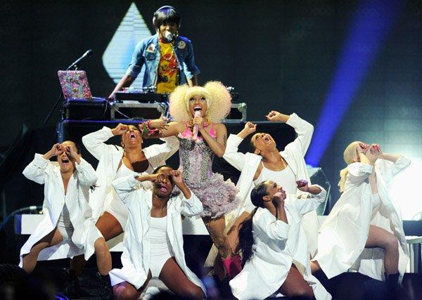 Nicki Minaj Performs At iHeart Radio Festival