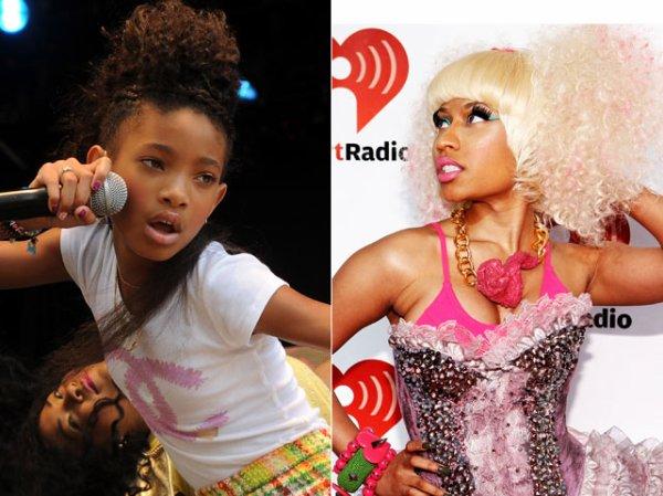 Willow Smith Is 'Grateful' for Nicki Minaj Duet