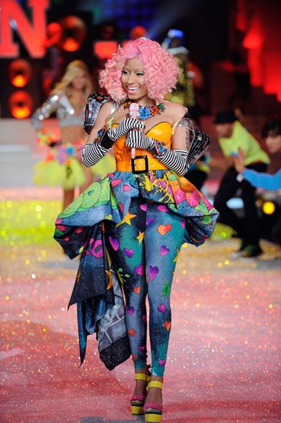 Kanye, Jay-Z & Nicki Minaj Rock The Victoria's Secret Fashion Show Runway!