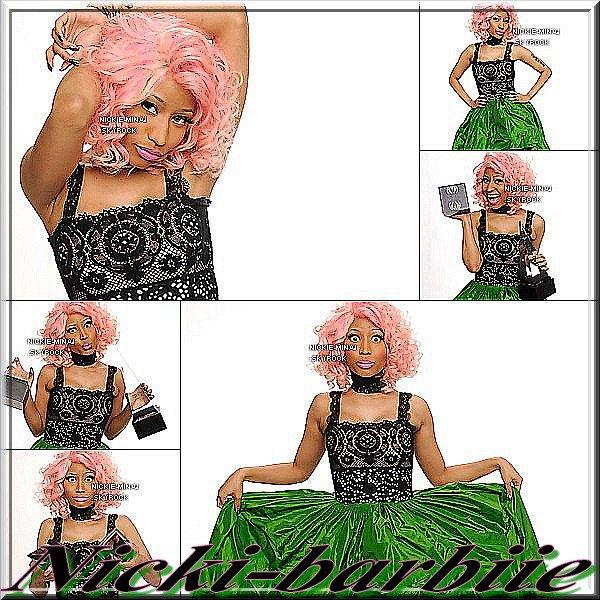Nicki epoustouflante au AMA 2011
