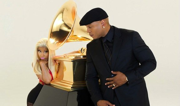 Nicki Minaj Gets Pretty For Grammy With LL Cool J