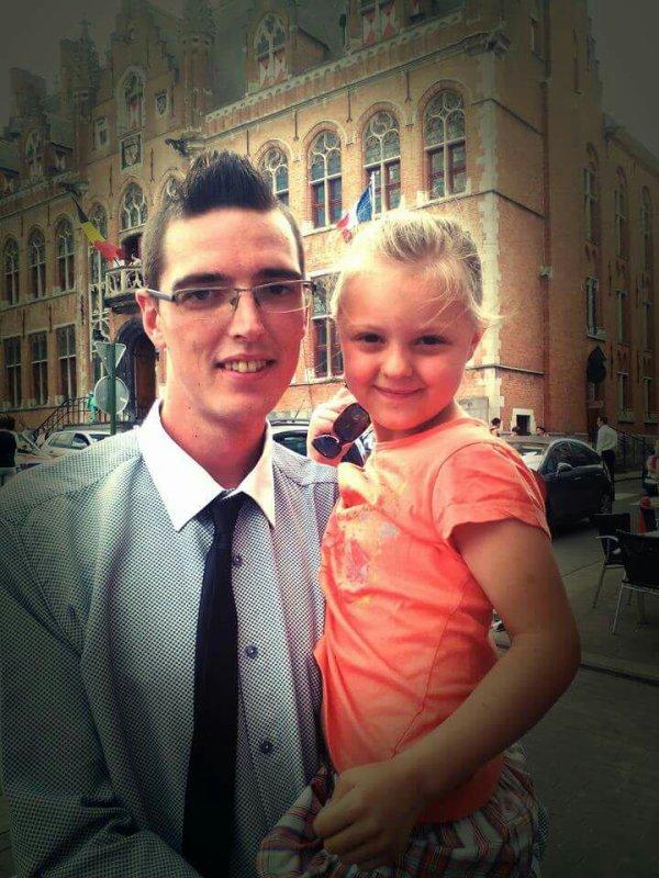 Moi et ma petit chérie