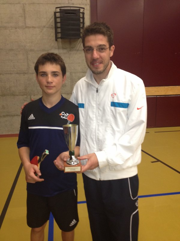 TOURNOI INTERNE 2012 - DOUBLE