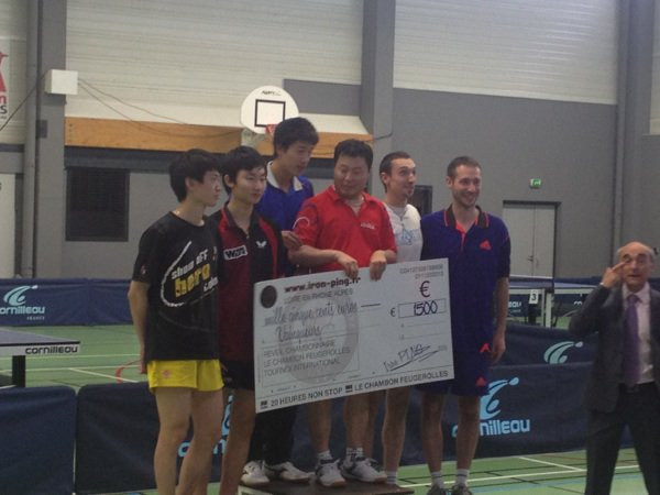 11:00 le podium du tournoi