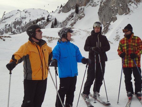 Journée de ski à Leysin en photos