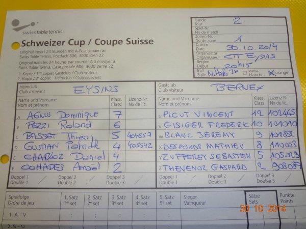 Coupe Suisse - en images