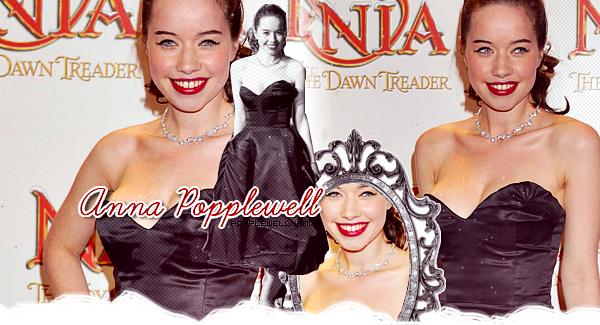 Bienvenue sur PopplewellxAnna, ton blog source sur la talentueuse Anna Popplewell.