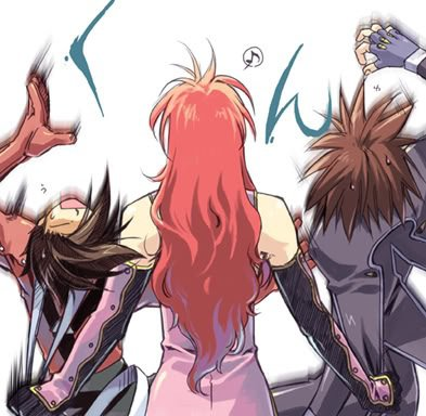 Zelos,Lloid et Kratos