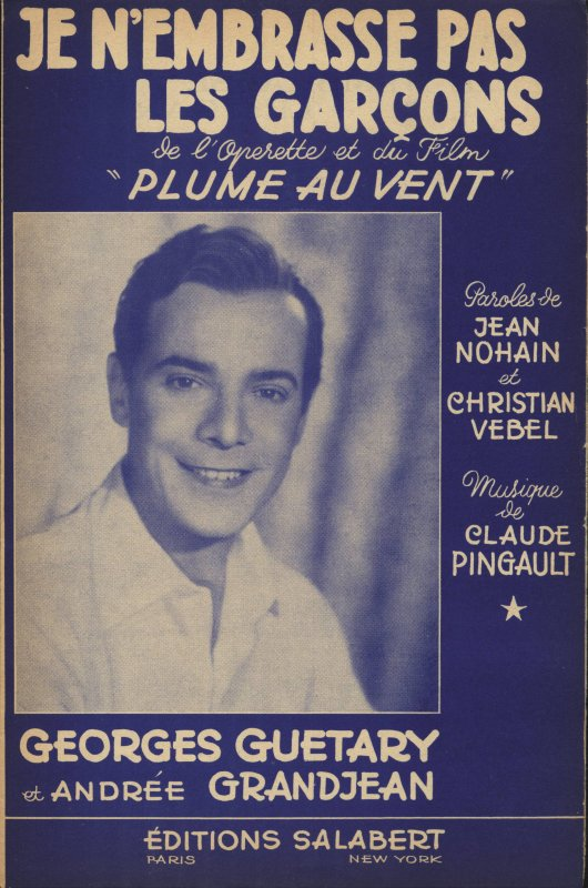 Anaïs chante Georges Guétary
