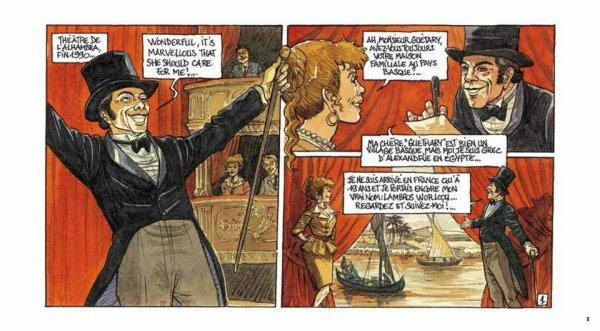 Georges Guétary en Bande dessinée
