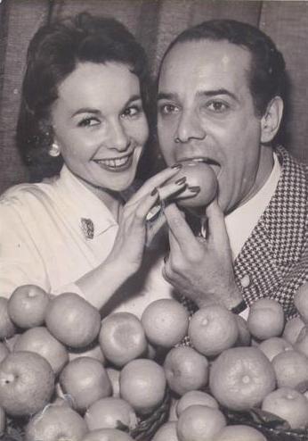 Georges Guétary et Françoise Arnould
