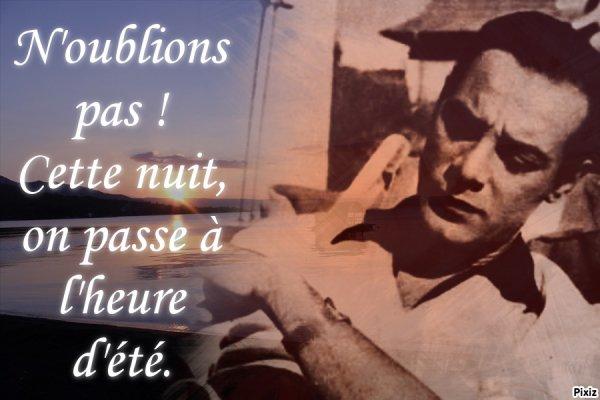 Georges Guétary à l'heure d'été
