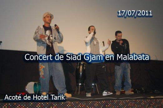 Concert de SiadGjam a Malabata