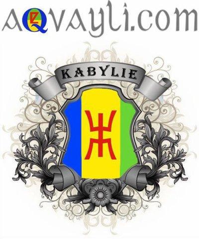 notre drapeau la kabylie bien sur