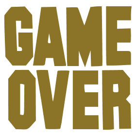 Game over --'