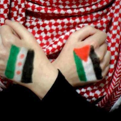 POUR UNE SYRIE ET UNE PALESTINE LIBRE !
