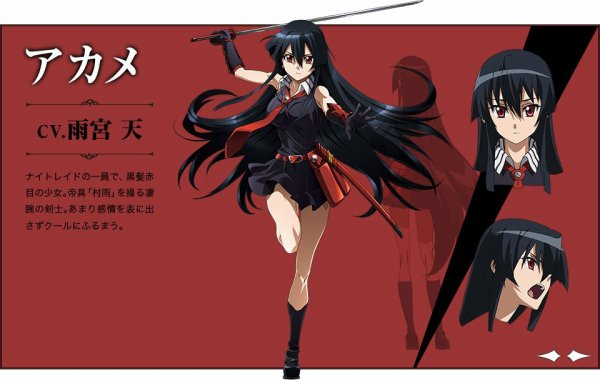 Akame ga kill! (Red eyes sword)
