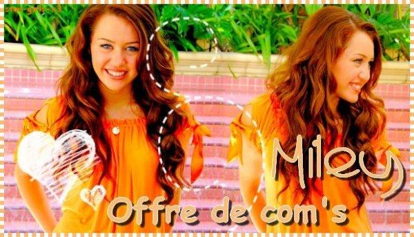 ♥ ♥  Offre De Com's  ♥ ♥