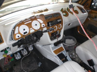 Interieur porte et plafond - 306 tuning or