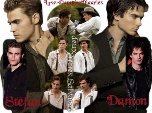 Stefan Salvatore & Damon Salvatore