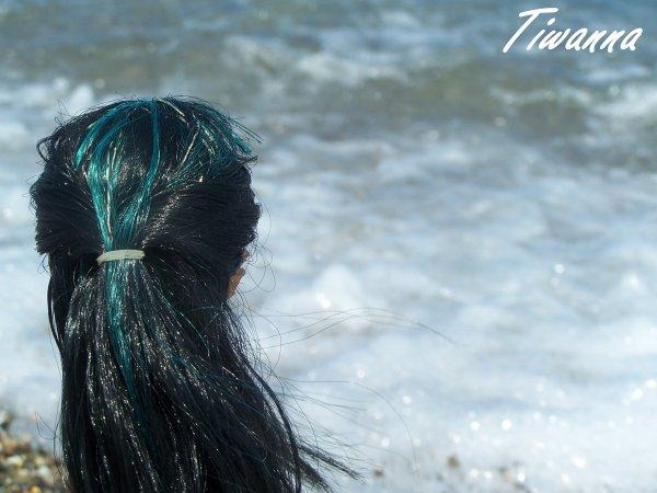 Cléo sur la plage ! 2