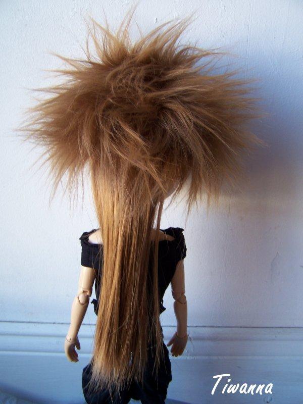 arashi et sa nouvelle wig !