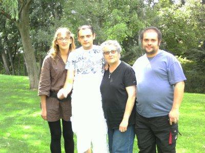 moi ma soeur mon frere et ma maman
