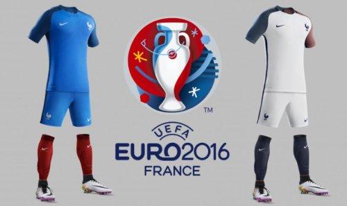 Euro 2016: Les Maillots de l'Equipe de France de Football