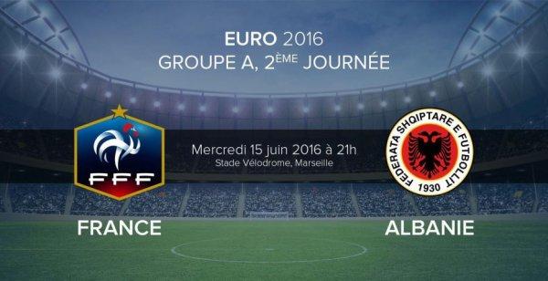 france albanie  mercredi 15 juin 2016