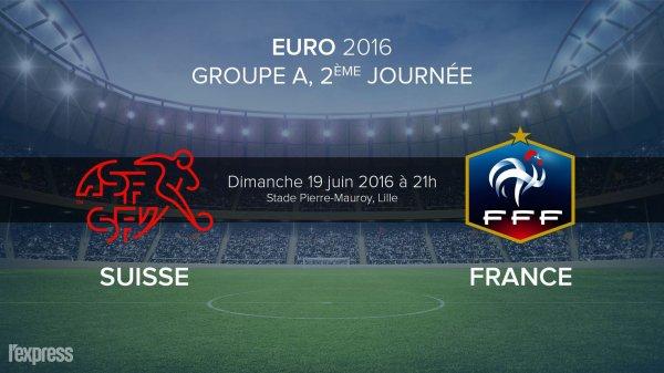 france suisse dimanche 19 juin 2016