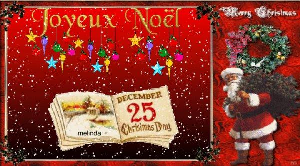 Je vous souhaite un joyeux Noël à tous