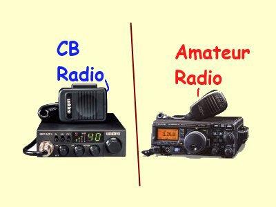 RADIO CB VS AMATEUR RADIO