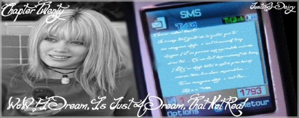 Chapter Twenty - WoW ! I Dream, Is Just A Dream, That Not Real