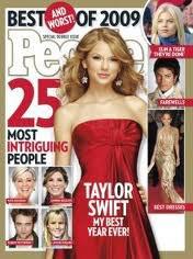 Taylor en couverture de mags