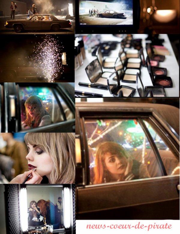 """Quelques photos du tournage du clip de """"Golden Baby"""" ! Vos avis ?"""