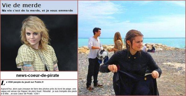 Coeur de Pirate sur VDM !