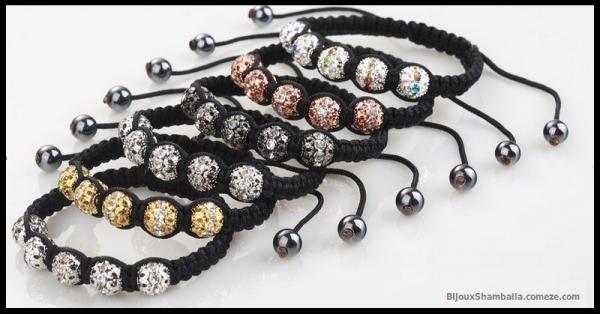 Produit n'2 : Shamballa 5 perles