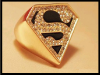 Produit n'5 : Bague Superman