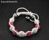 Produit n'21 : Shamballa pink and white